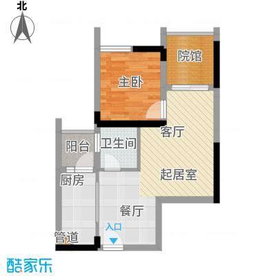 金融街金悦城46.73㎡二期2A、2B面积4673m户型