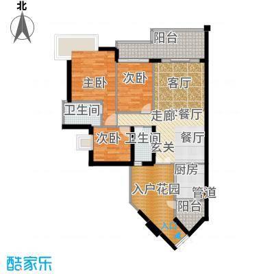佳华世纪新城A区94.00㎡面积9400m户型