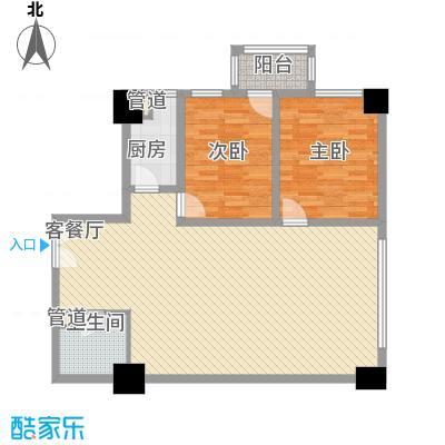 华丽家族117.40㎡3/4号面积11740m户型