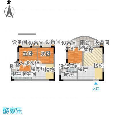天骄年华121.94㎡面积12194m户型