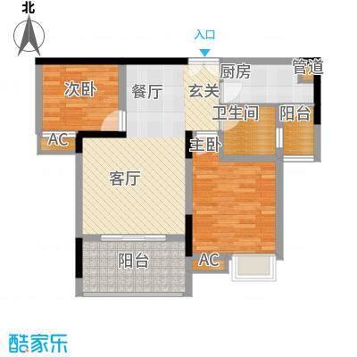 欧鹏K城1户型