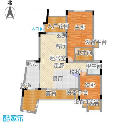 旭辉朗香郡170.00㎡三期42号楼六面积17000m户型