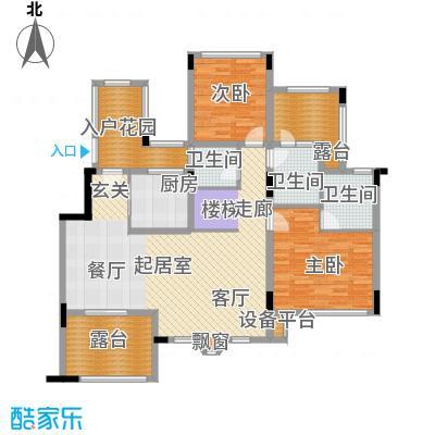 旭辉朗香郡111.16㎡A1a-6(已售完面积11116m户型
