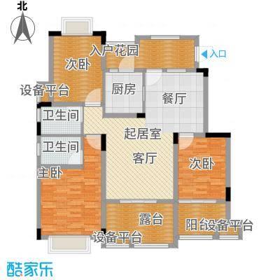 旭辉朗香郡98.89㎡一期2号楼B5-面积9889m户型