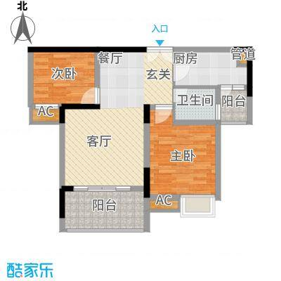 欧鹏K城3户型