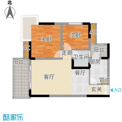 欧鹏K城4户型