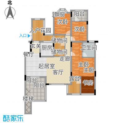 旭辉朗香郡138.25㎡A1a-2(已售完面积13825m户型