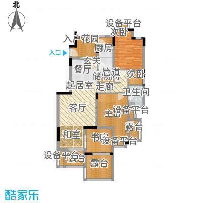 旭辉朗香郡99.00㎡三期41号楼标面积9900m户型
