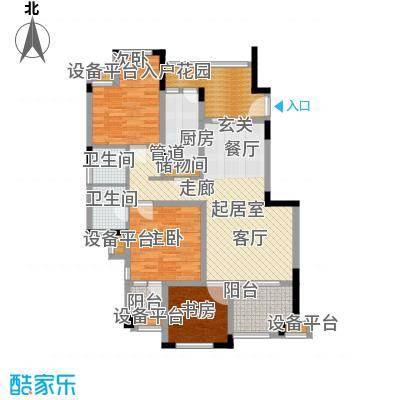 旭辉朗香郡94.42㎡四期45、50幢面积9442m户型