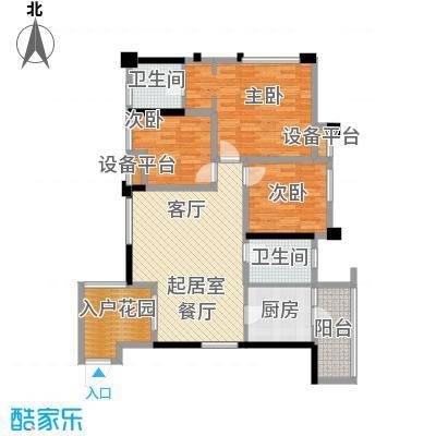 旭辉朗香郡94.80㎡五期6号楼标准面积9480m户型