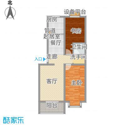 龙湖枫香庭108.00㎡面积10800m户型