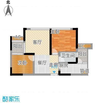 中渝山顶道壹号B1-2户型