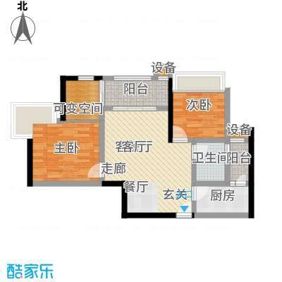 金辉融侨半岛香弥山1号1户型