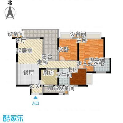 重庆天地雍江艺庭123.00㎡三期08面积12300m户型
