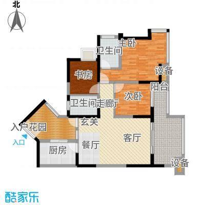 金辉融侨半岛香弥山1号93.94㎡9面积9394m户型