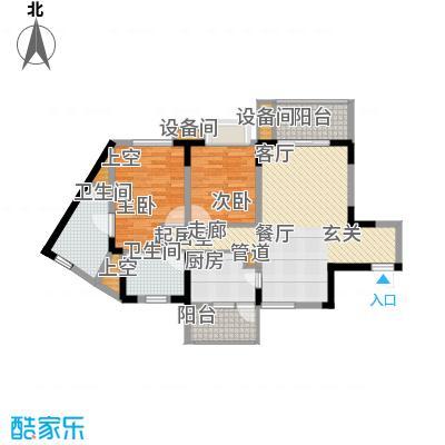 重庆天地雍江艺庭90.00㎡tower-面积9000m户型