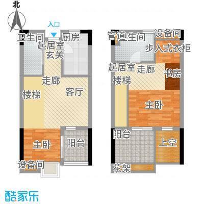 重庆天地雍江艺庭87.00㎡tower-面积8700m户型