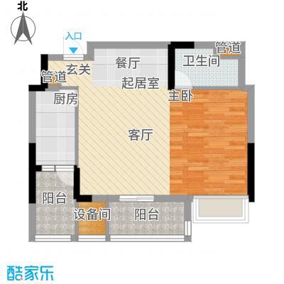 重庆天地雍江艺庭59.00㎡tower-面积5900m户型