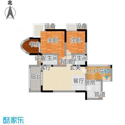 金辉融侨半岛香弥山1号85.50㎡8面积8550m户型