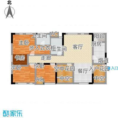 北城国际中心112.26㎡4期逸兴阁5面积11226m户型