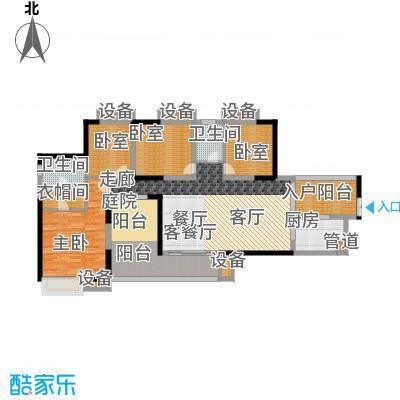骏逸第一江岸143.49㎡3栋面积14349m户型