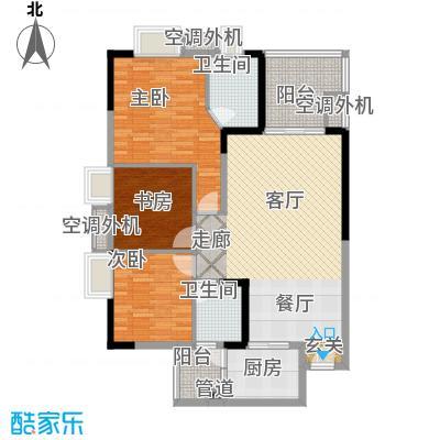升伟新时空94.23㎡6、7、8号楼面积9423m户型