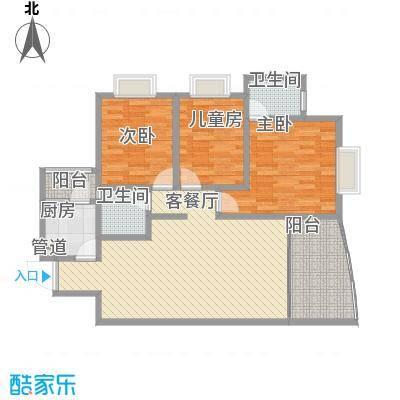 协信天骄俊园115.00㎡天骄俊园3面积11500m户型