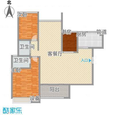 协信天骄俊园128.00㎡天骄俊园2面积12800m户型