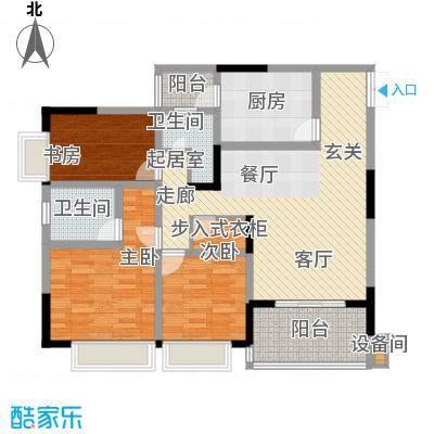 凤天锦园103.70㎡2面积10370m户型