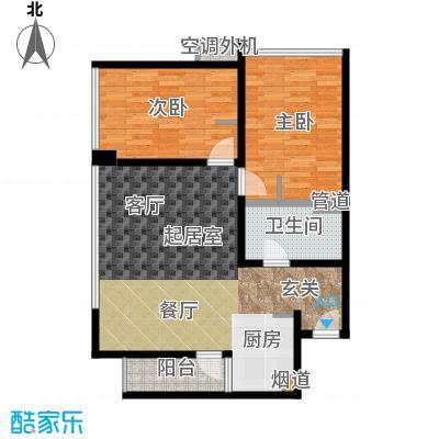 新宝龙易城70.51㎡1-5面积7051m户型