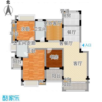 同景国际城恋山106.20㎡B3F2面积10620m户型