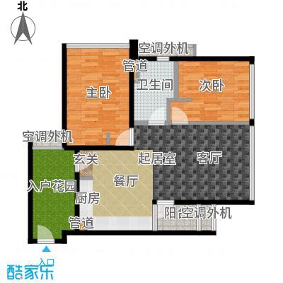 新宝龙易城69.66㎡4-2面积6966m户型
