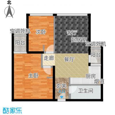 新宝龙易城69.97㎡1-7面积6997m户型