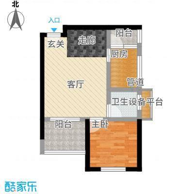 学林佳苑41.06㎡A121面积4106m户型