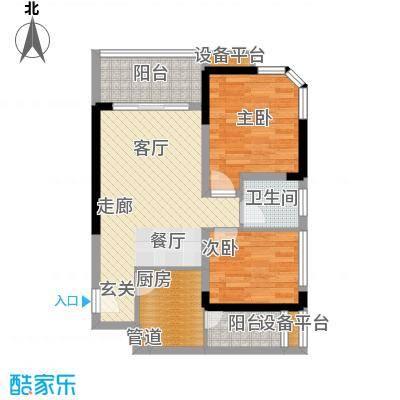 学林佳苑59.98㎡B3面积5998m户型