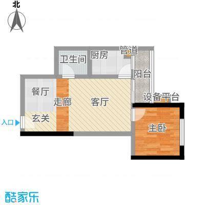 学林佳苑44.82㎡A4、A71面积4482m户型