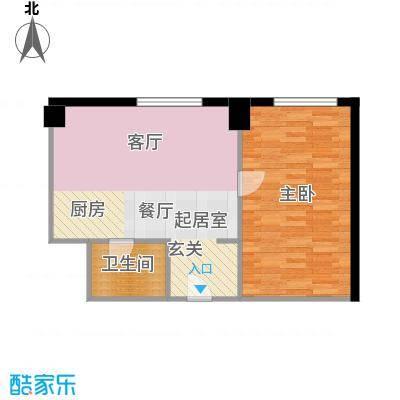 庆业巴蜀城55.00㎡面积5500m户型