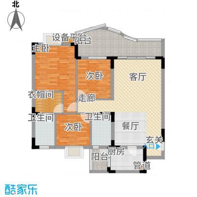 尚阳康城104.00㎡C32面积10400m户型
