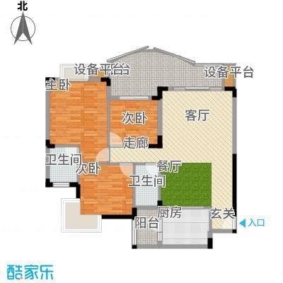尚阳康城102.00㎡C22面积10200m户型