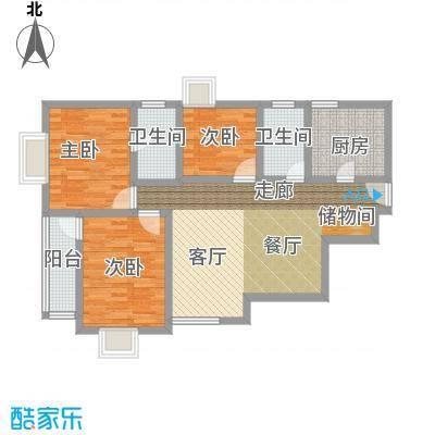 隆鑫国际85.00㎡面积8500m户型