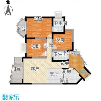 百年世家室内图1户型