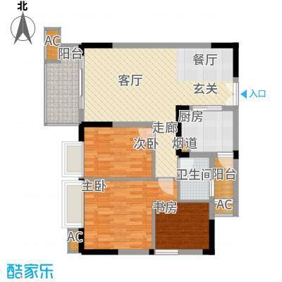 顺祥壹街区77.41㎡A1-7已售罄3面积7741m户型