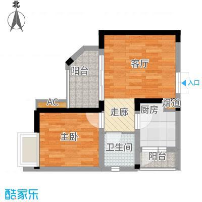 顺祥壹街区38.31㎡A3-1已售罄1面积3831m户型