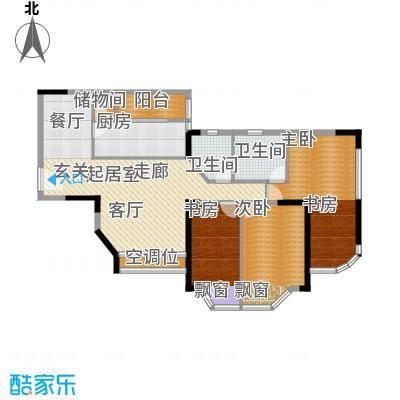 西亚怡顺佳苑111.67㎡5面积11167m户型