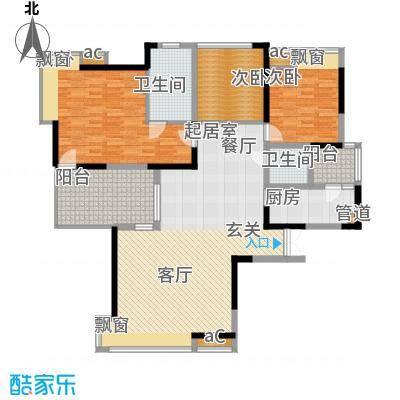 春风城市心筑112.34㎡面积11234m户型