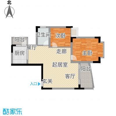 银泰新苑88.20㎡1面积8820m户型