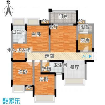 协信云栖谷107.45㎡10号楼2号房面积10745m户型