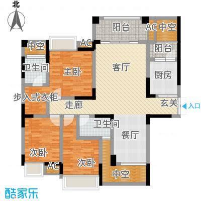 协信云栖谷97.02㎡11号楼4号房面积9702m户型
