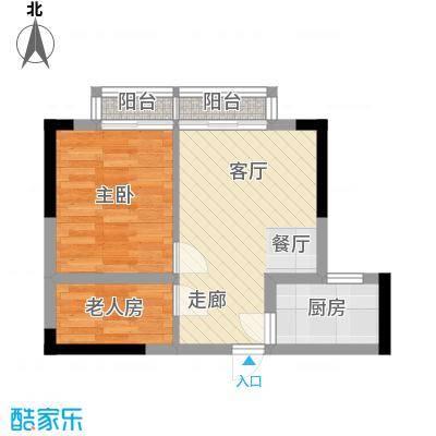 宏基大厦42.22㎡13号房1面积4222m户型