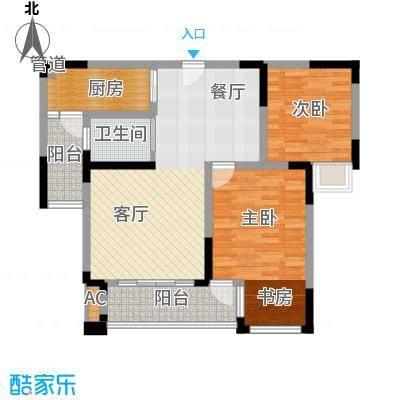 协信云栖谷79.50㎡11号楼3号房面积7950m户型